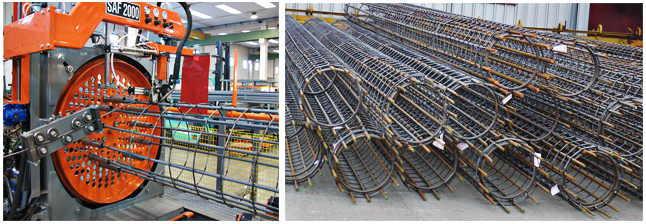 Fabrication Of Pile Cages