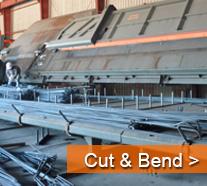Bahrain steel rebar cut bend